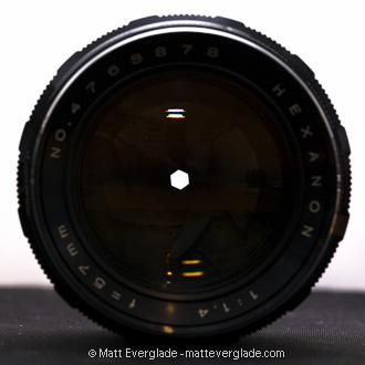 f/16: Minimum aperture