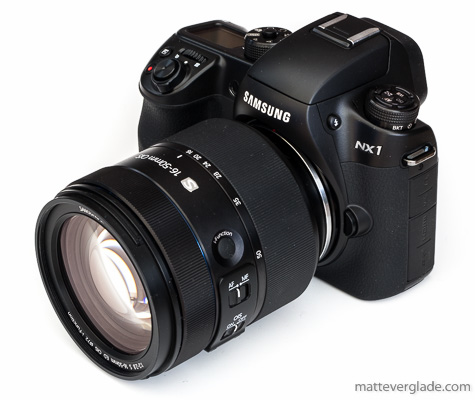 Samsung NX1 with 16-50mm F2-2.8 S